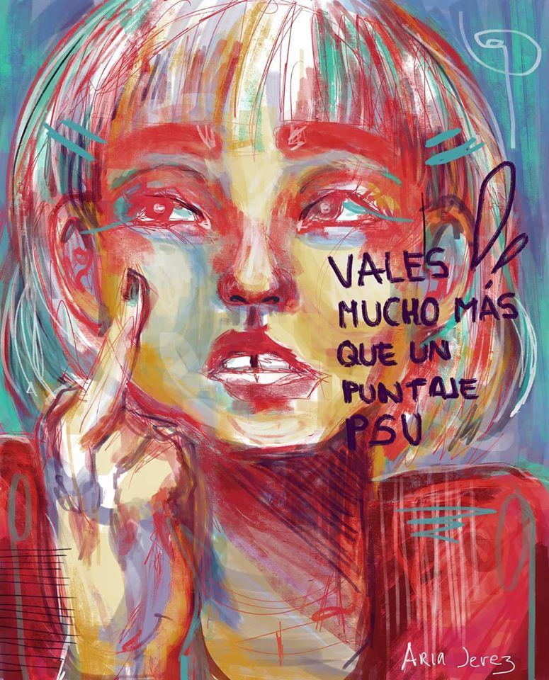 ILUSTRACIÓN PSU CHILE POESÍA